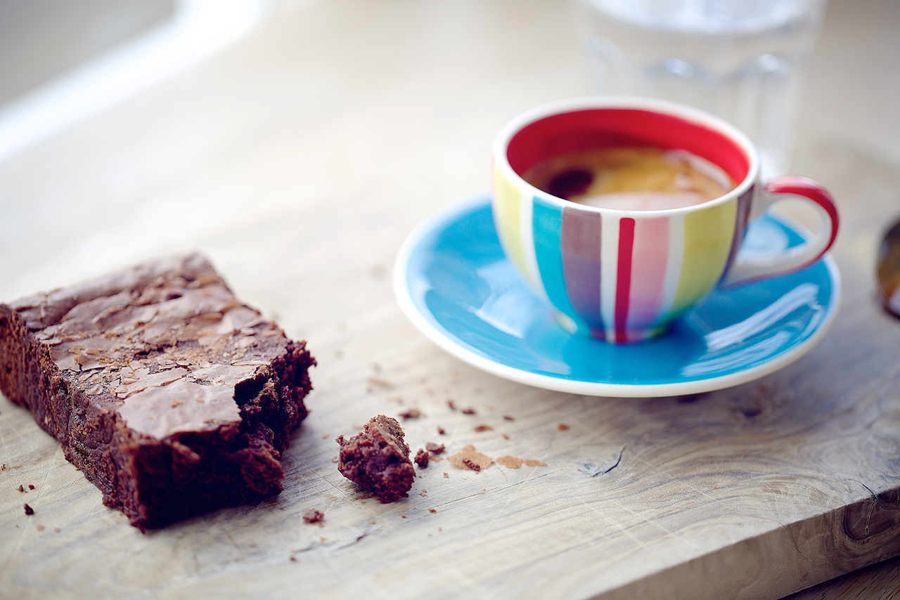 Brownie, Oxford coffee