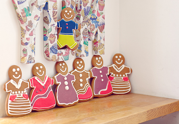 Gingerbread people at Natural Bread